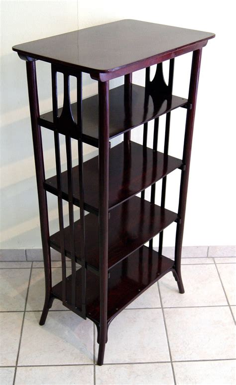etagere jugendstil thonet nouveau vienna etag 232 re or bookshelf circa 1905