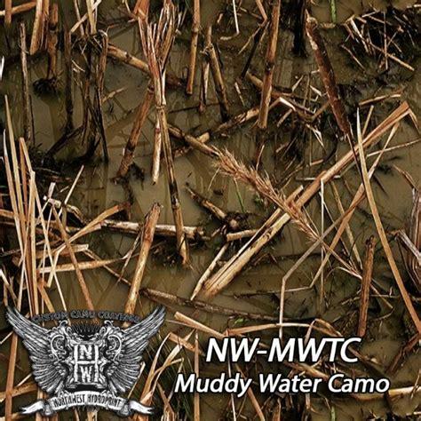 muddy water camo camouflage patterns northwest hydro print