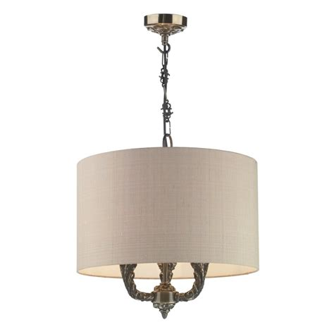 Bronze Ceiling Light by Valerio Traditional Bronze Ceiling Pendant On Chain With Shade
