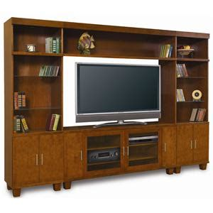 baker road home theater furniture modern wall unit with