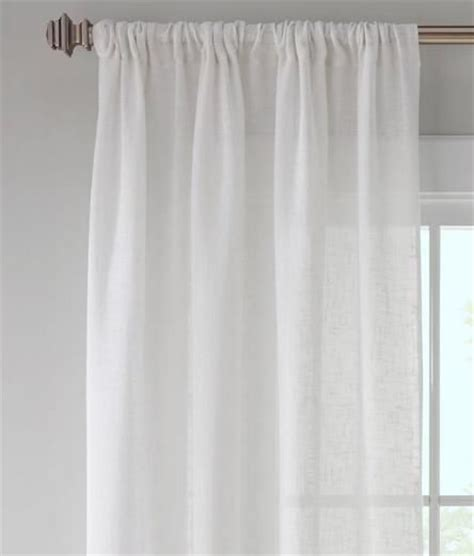 country curtains rods sheer linen rod pocket curtains country curtains 174 home