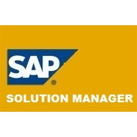 tutorial sap solution manager sap solution manager buy 1 get 1 free