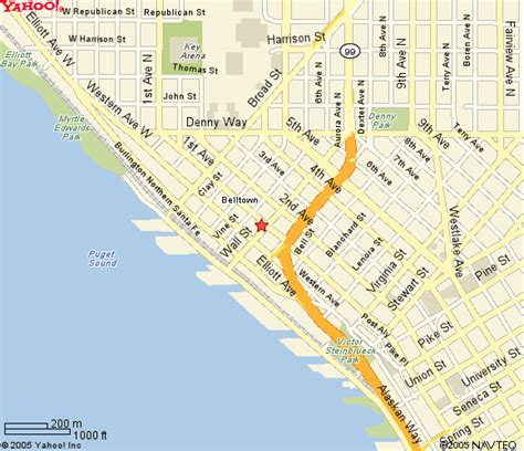seattle hotels map downtown seattle lodging seattle washington hotel downtown