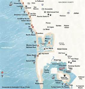 San Diego Hotel Map by San Diego Hotels Map Hotel Reservations Information San
