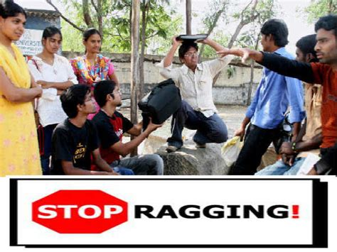 Ragging In Mba Colleges by Ugc To Take Serious Against Ragging In Colleges