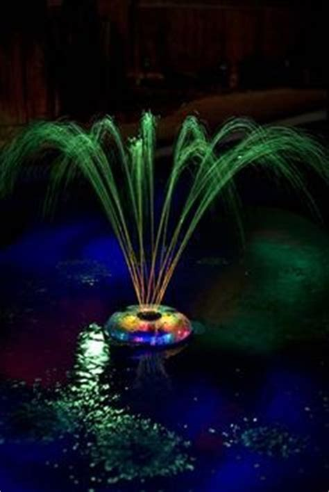 battery operated floating pool lights 1000 images about lights and fountains on