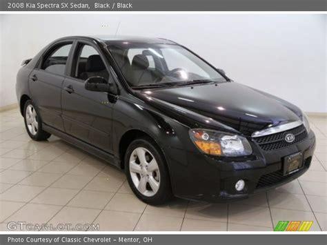 2008 kia spectra sx black 2008 kia spectra sx sedan black interior