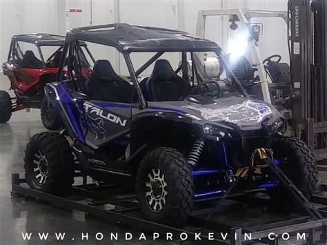 2019 Honda Talon by All New 2019 Honda Talon 1000 Sport Side By Side Leaked
