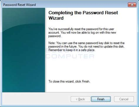 how do you reset vista password how to reset your windows password using a windows
