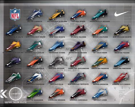 nfl football shoes nike football unveils cleats as nfl gear