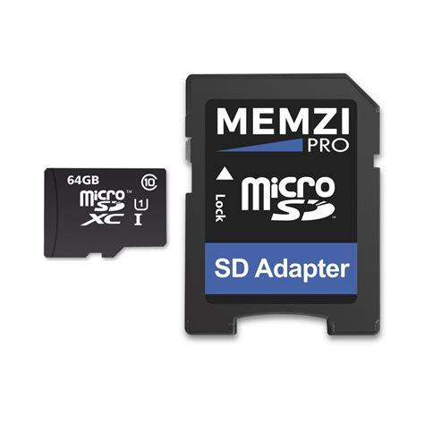 best micro sdxc card memzi pro 64gb class 10 90mb s micro sdxc memory card with