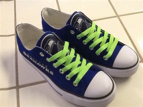 seahawks tennis shoes seattle seahawks womans tennis shoes