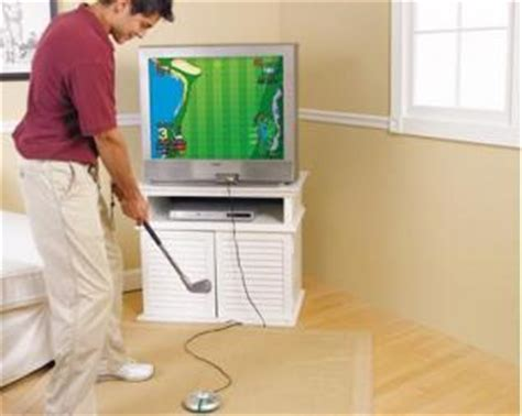 play tv swing play tv golf game plug into your television swing and play