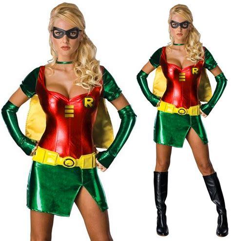 Tshirt Supeheroes Batman Size L Ld 86 Cm womens robin costume batman sidekick fancy dress ebay