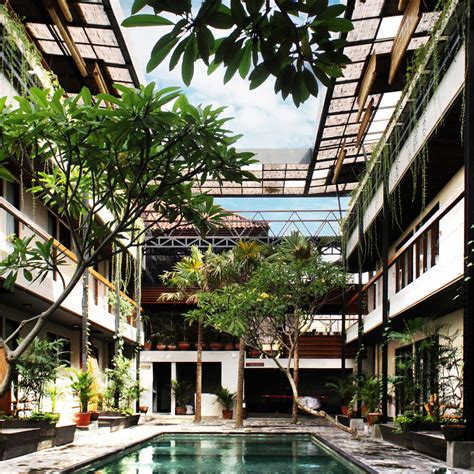 famous living architects alexis dornier completes co living complex in bali with