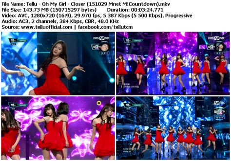 download mp3 closer by oh my girl download perf oh my girl closer mnet m countdown 151029