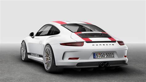 geneva motor show the new porsche 911 r
