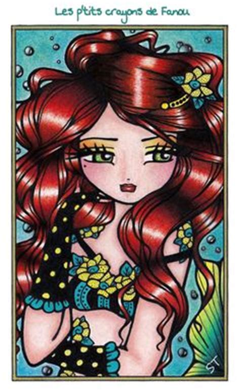 enchanted faces mermaids fairies little miss deelish livre mermaids fairies other girls of whimsy hannah lynn colors