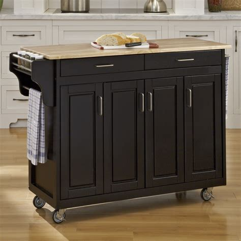 Kitchen Carts On Wheels Kitchen Islands And Carts With