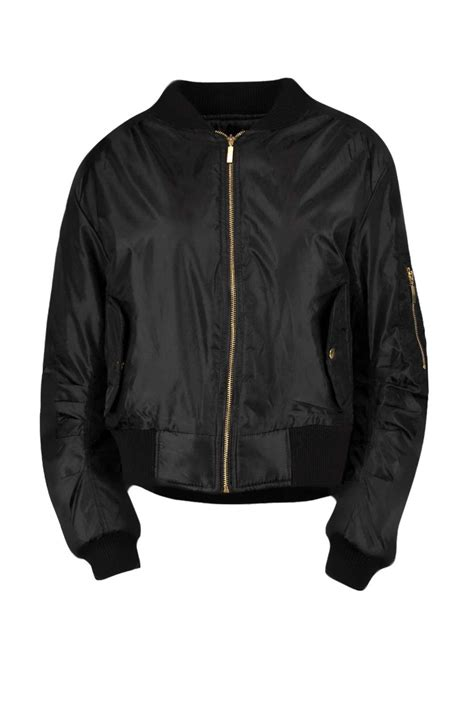The Bomber Jacket boohoo womens khloe ma1 bomber jacket ebay