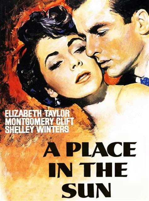 A Place On Netflix A Place In The Sun With Elizabeth And Montgomery Clift Is On Amazonprime But Not Netflix