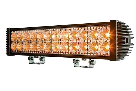 How To Make An Led Light Bar 18 Quot Dual Row Road Led Light Bar 45w 1 950 Lumens Led Landscape Lighting