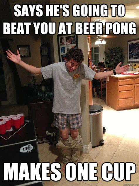 Beer Pong Meme - funny beer pong memes