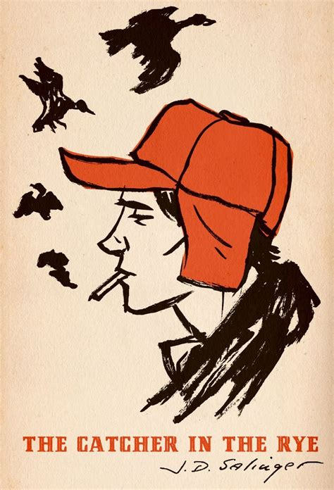 catcher in the rye friendship theme quot the catcher in the rye quot j d salinger illustration by m