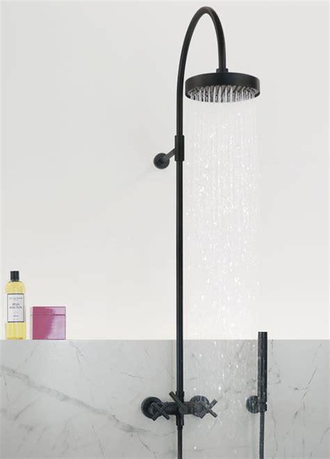 schwarze duscharmatur tara ein armaturen klassiker im wandel schwarze oder