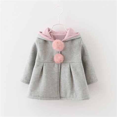 newborn jacket infant newborn warm winter outerwear hooded coat