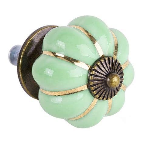Knobs For Furniture by 8 Design Pumpkin Porcelain Knobs Furniture Handles