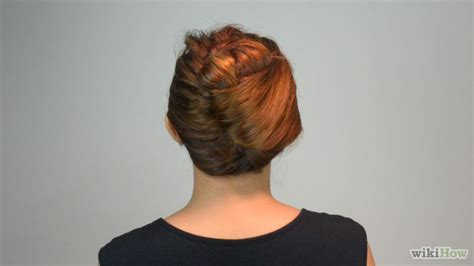 how to french twist hair 9 steps with pictures wikihow 3 ways to french twist hair wikihow