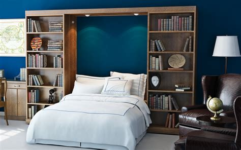 Murphy Bed by Murphy Beds With Bookcases Abbott Library Murphy Bed