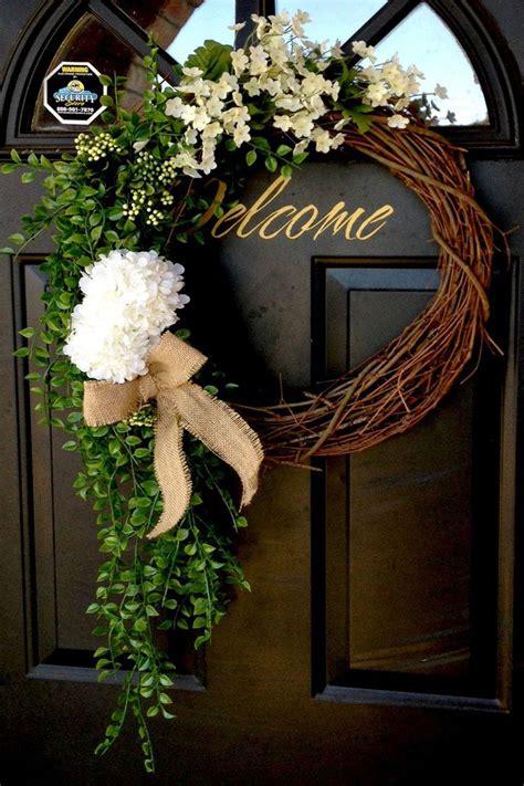diy summer wreath ideas outdoor front door wreaths