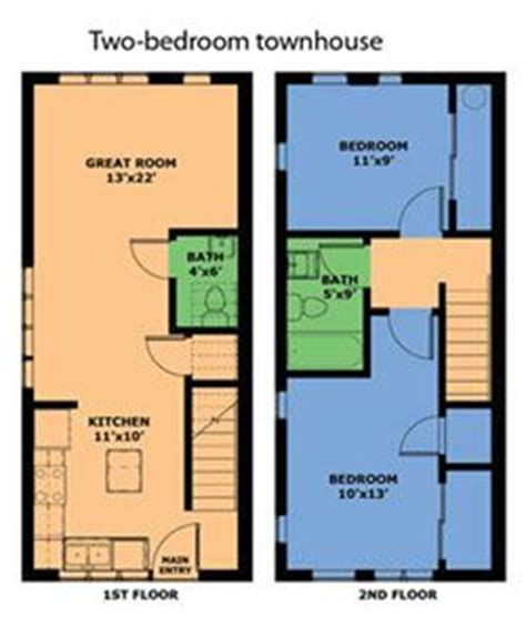 2 bedroom townhouse floor plans townhouse search and google search on pinterest