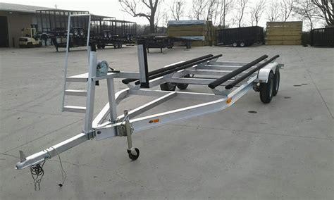 20 ft aluminum boat trailer c m boat trailers