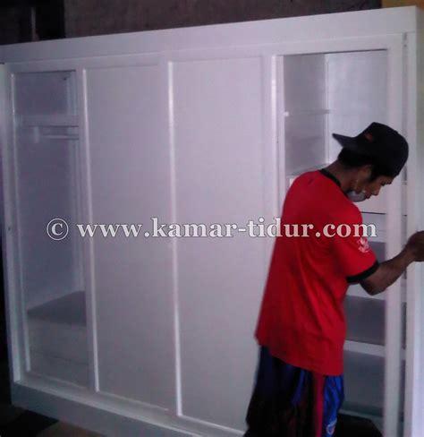 Lemari Es Empat Pintu lemari pakaian dewasa 4 pintu sliding pesanan ibu tiwuk jakarta barat furniture kamar tidur