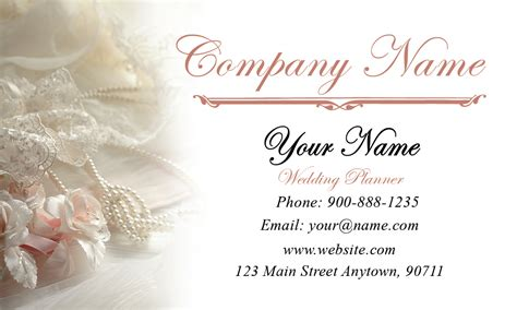 wedding business card template event planner business cards free templates designs and