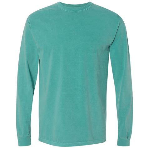 seafoam comfort colors comfort colors 6014 garment dyed heavyweight ringspun long