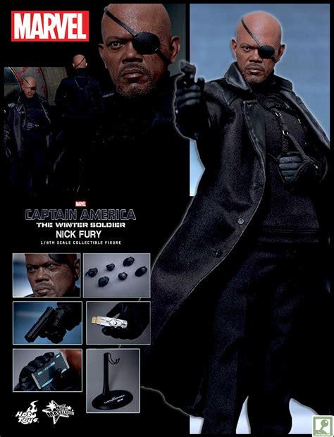 Toys Nick Fury The Winter Soldier Misb limited pre order toys nick fury