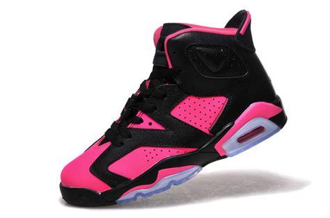 2017 air 6 gs black pink shoes for sale jordans 2017