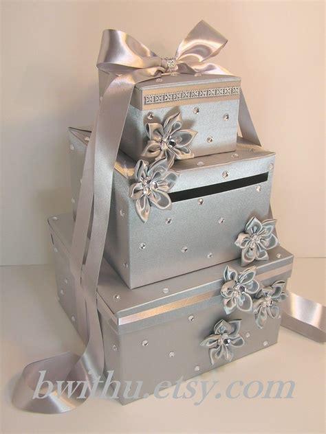 card box holder ideas silver wedding card box gift card box money box holder