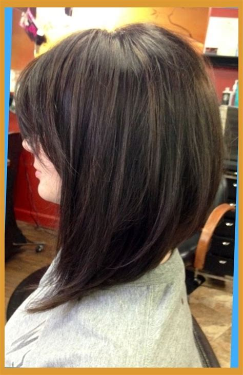Long Swing Bob With Bangs | long bob haircuts back view long swing bob swing bob