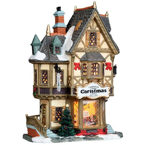 lemax lights lemax tannenbaum shoppe lighted building 35845 bosworths shop