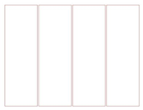 Templates Bookmarks Printable Free | blank bookmark template for word this is a blank