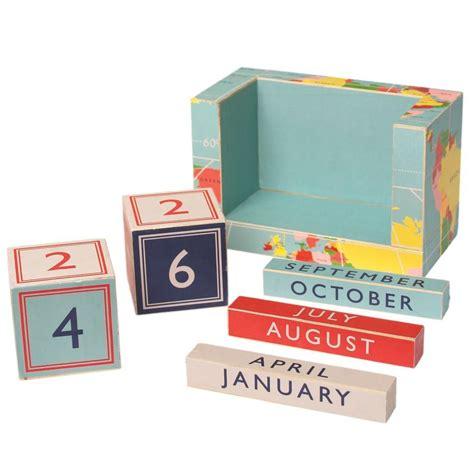 Block Calendar Vintage World Map Block Desk Calendar Dotcomgiftshop