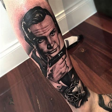 sean connery tattoo 30 best benjamin laukis images on ink