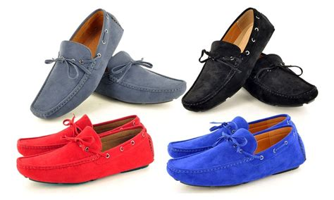 Sepatu Casual Adidas Slip On Mocasin V Suede Ii s casual loafer moccasins groupon goods