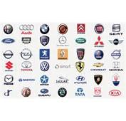Con Tutti I Modelli Di Auto Alcune Marche Nel Logo Mondo