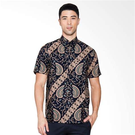 Kemeja Pria Kemeja Formal Kemeja Batik Slimfit Kemeja Pria Slimfit 10 jual adiwangsa batik modern slim fit kemeja pria hitam